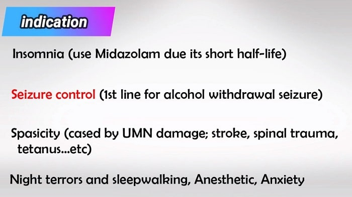 indications of xanax and klonopin