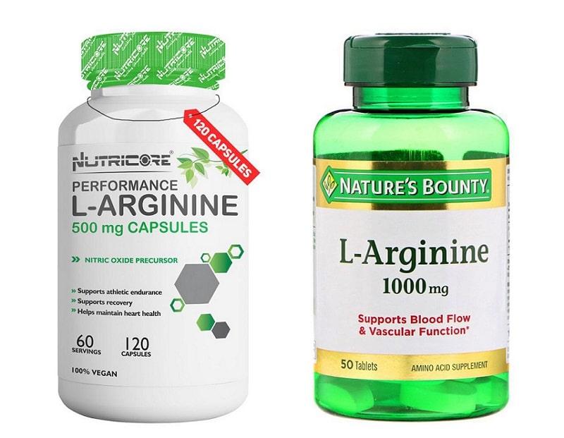 L-arginine pills